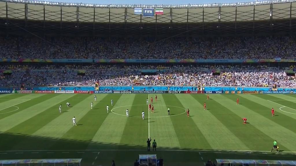 Mundial Brasil 2014 - Grupo F - J2 - Argentina Vs. Irán (720p) (Inglés-Español Latino) 0310