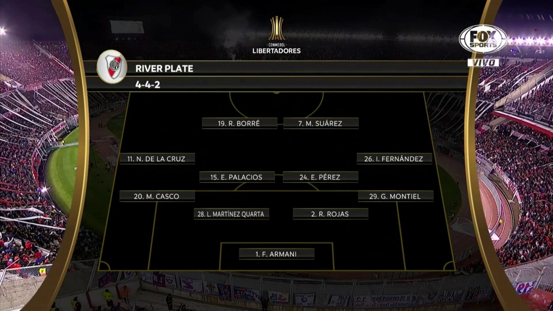 Copa Libertadores 2019 - Cuartos de Final - Ida - River Plate Vs. Cerro Porteño (1080p) (Español Latino) 220