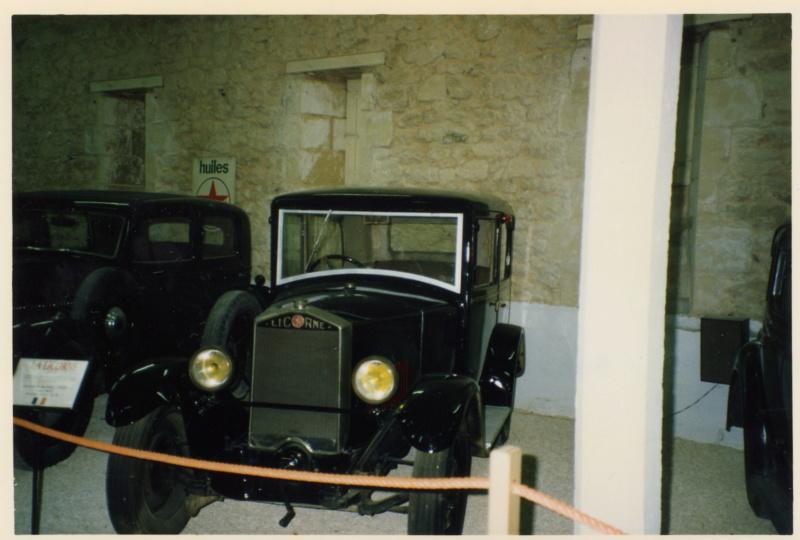 Musée automobile du Château de FLEURAC (Dordogne) 031_la12
