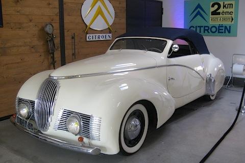 Citroën et Willy Bernath : Le carrossier skieur Citroe14