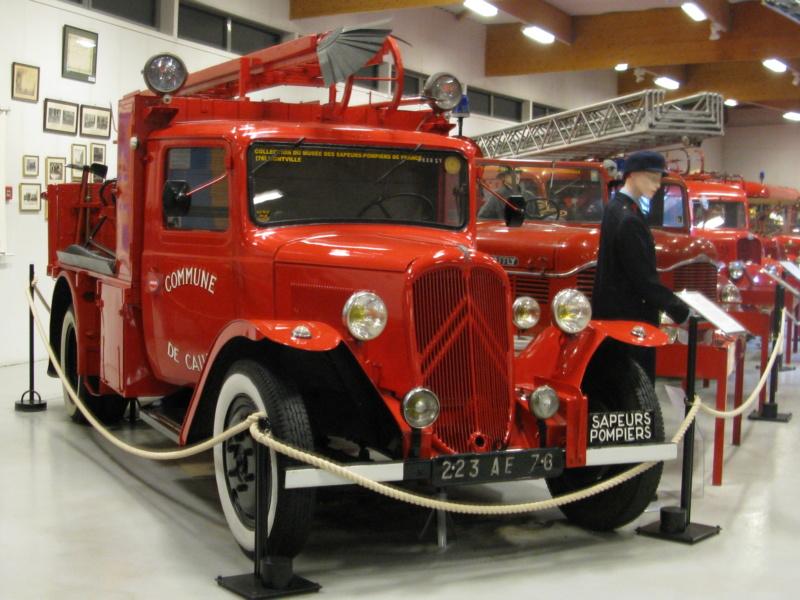 Le musée des Sapeurs Pompiers de Montville Img_0014