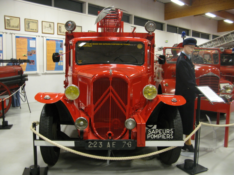 Le musée des Sapeurs Pompiers de Montville Img_0015