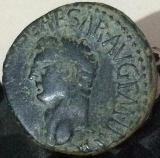 As de Claudio I. S C. Minerva avanzando a dcha. Roma. Cfg10