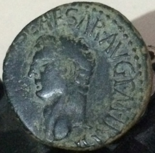 As de Claudio I. S C. Minerva avanzando a dcha. Roma. Cfg11