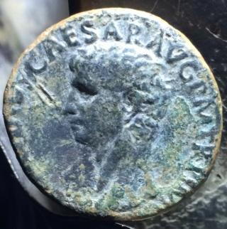 As de Claudio I. S C. Minerva avanzando a dcha. Roma. Jl10