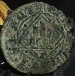 Blanca del ordenamiento de Segovia de 1471 de Enrique IV. Toledo Ld10