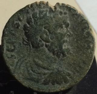 AE24 de Septimio Severo. Corinto Zd10
