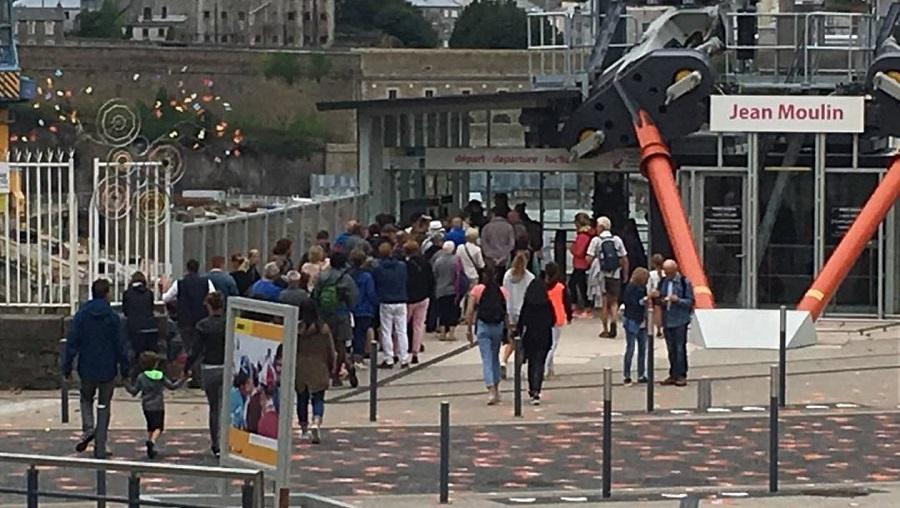 Brest. Le téléphérique, cette attraction touristique 238c2110