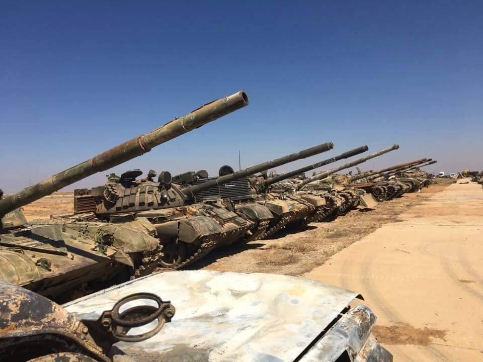 Sirija: SAA do nogu porazila đihadiste u j. Siriji i zapljenila tone američkog oružja - Page 2 Dhld1s10