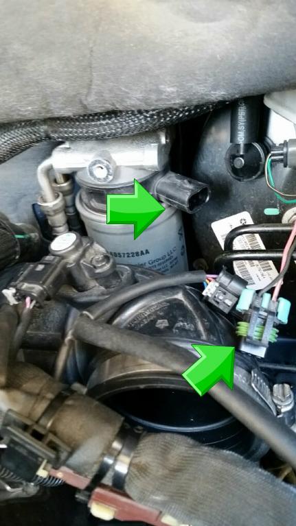Jeep Copass 2.2 CRD 163 cv  Procedura sostituzione filtro gasolio Pizap_10