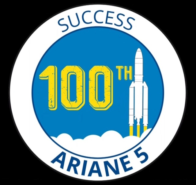 Ariane 5 ECA VA243 (Horizons-3e + Azerspace 2/Intelsat 38) - 25.9.2018 - Page 3 100th-10