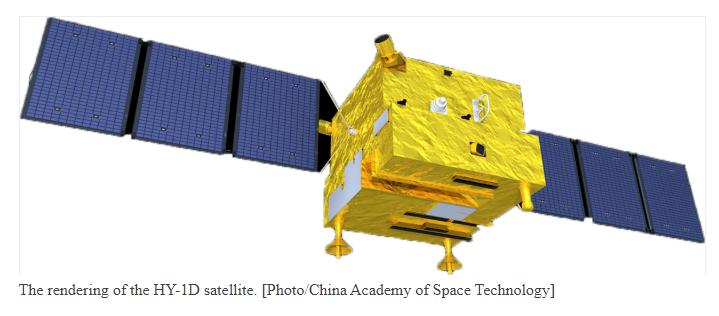 CZ-2C (Haiyang-1D) - TSLC - 10.6.2020 [Succès] Hy1d10