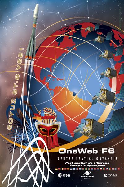 Soyouz-ST-B VS21 (OneWeb) - 27.2.2019 - Page 2 Poster10