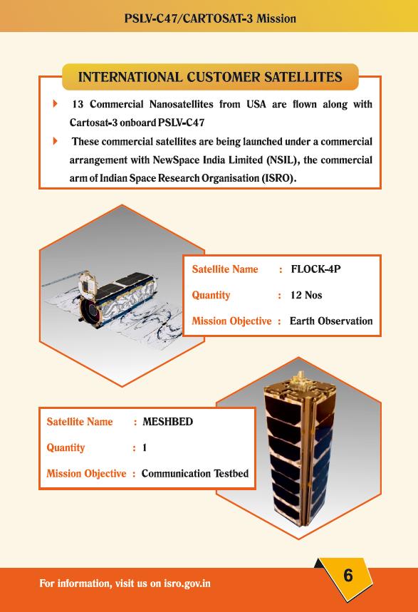 PSLV-XL C47 (Cartosat-3 + 12 cubesats & Meshbed) - SDSC - 27.11.2019 Pslv_411