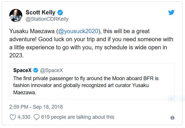 [SpaceX] Un voyage touristique circumlunaire en 2023 ? - Page 3 Scottk12