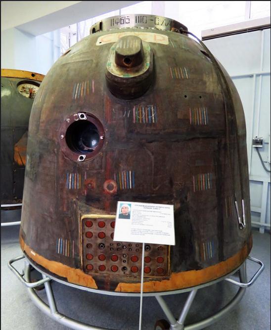 Visite au musée RKK Energia Soyouz10