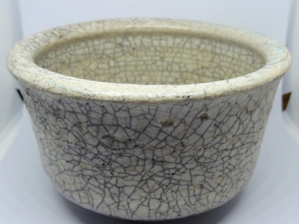 Cream Raku Bowl by Roz Wallis, Chiswick Dsc03216