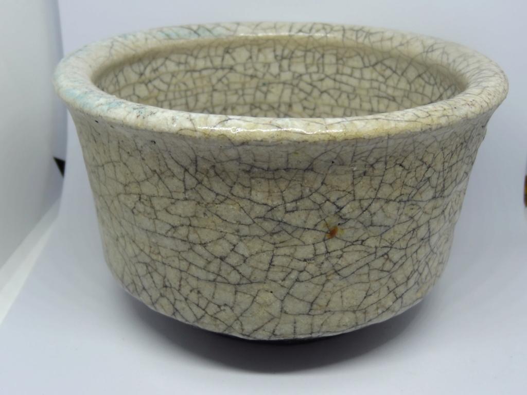 Cream Raku Bowl by Roz Wallis, Chiswick Dsc03217