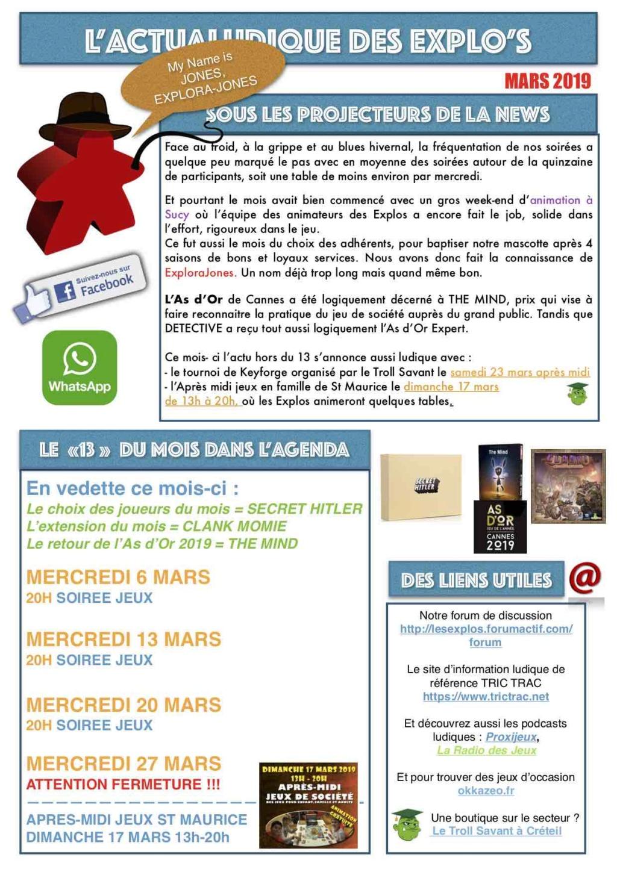 Forumactif.com : Le forum des explorajoueurs - Portail Newsle12