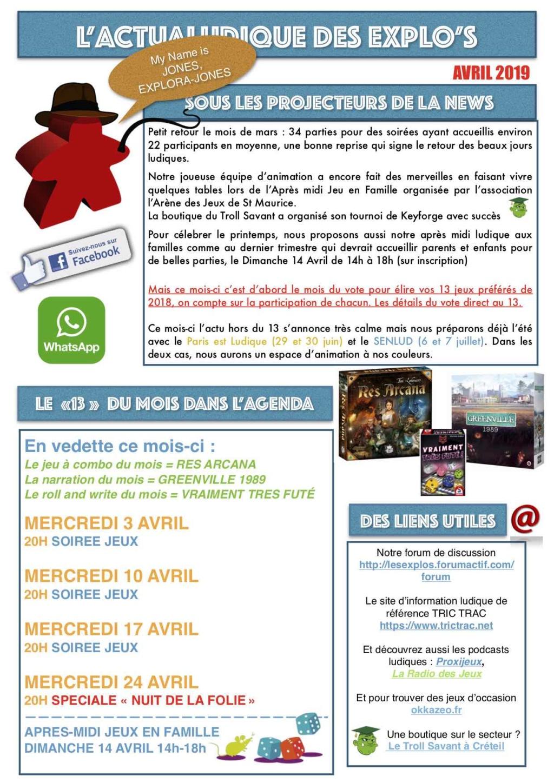 Forumactif.com : Le forum des explorajoueurs - Portail Newsle14