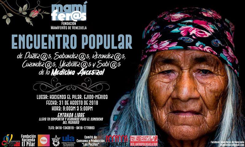 Encuentro Popular de curanderas, sobanderas, yerbateros en Mérida Encuen10