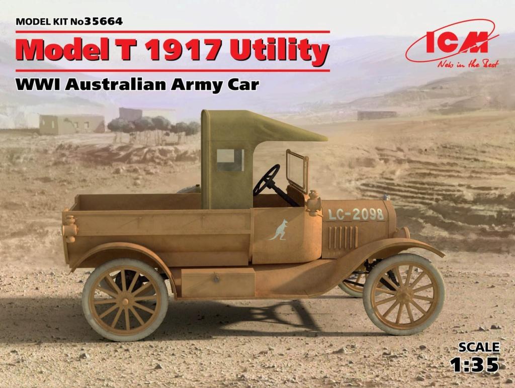 Deux FORD T de l' ANZAC en Egypte 1917 15058210