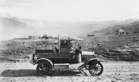 Deux FORD T de l' ANZAC en Egypte 1917 8965310