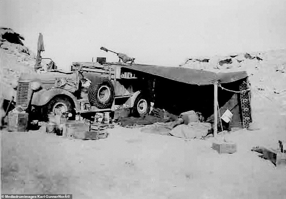 Camp du LRDG Libye 1942 89796711
