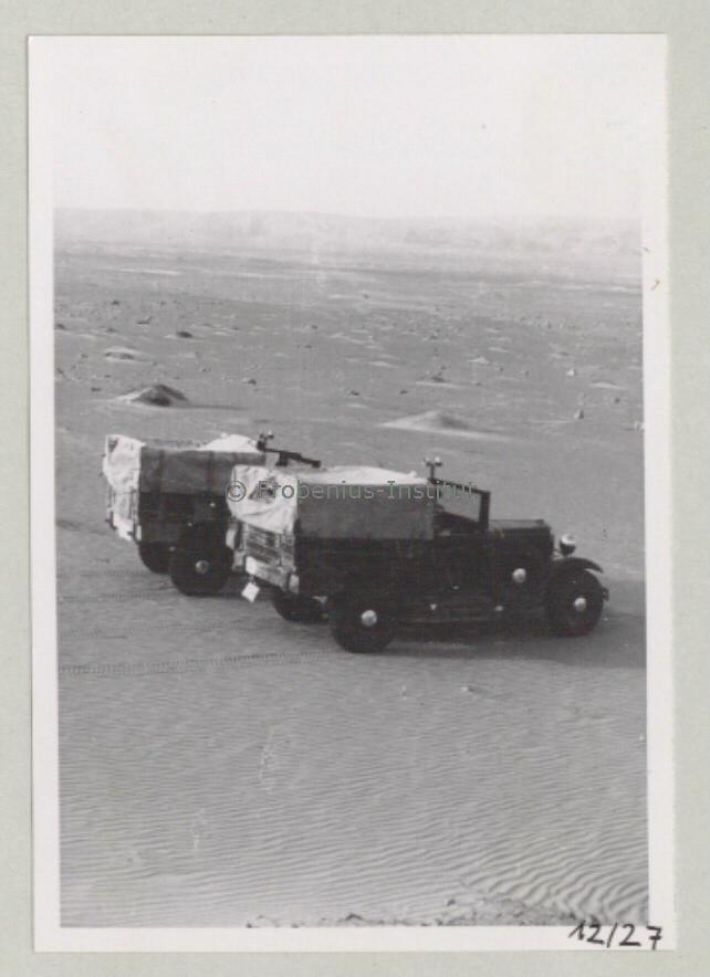 1934 Ford A de l'expédition de Léo Frobénius Moyen-Orient et Sahara Bildar17
