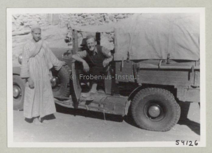 1934 Ford A de l'expédition de Léo Frobénius Moyen-Orient et Sahara Bildar18