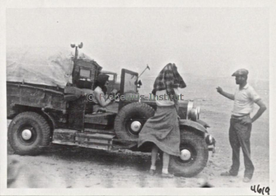 1934 Ford A de l'expédition de Léo Frobénius Moyen-Orient et Sahara Captur13