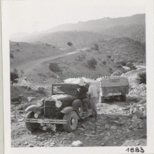 1934 Ford A de l'expédition de Léo Frobénius Moyen-Orient et Sahara Captur28