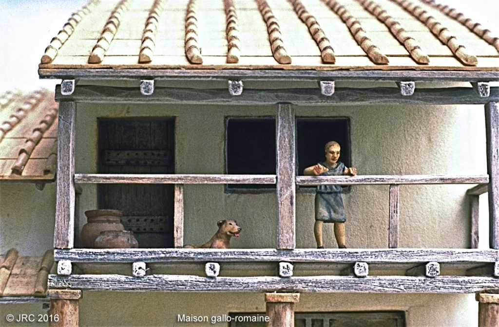 Dioramas 4 Epoque gallo-romaine Gallo111