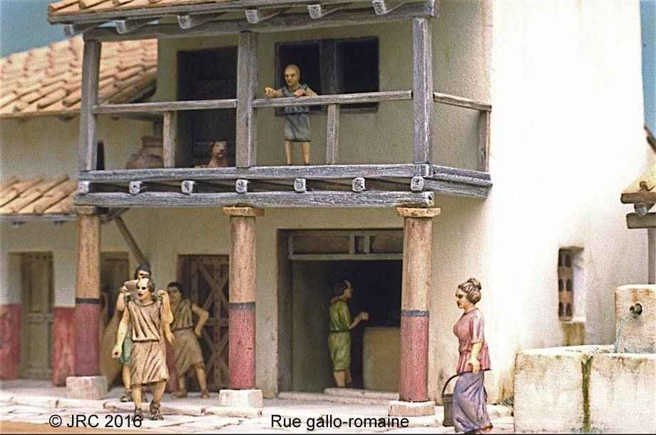 Dioramas 4 Epoque gallo-romaine Gallo211