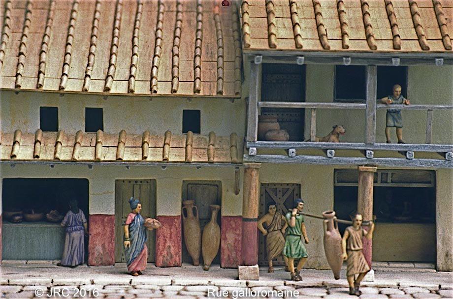 Dioramas 4 Epoque gallo-romaine Gallo410