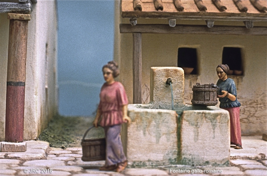 Dioramas 4 Epoque gallo-romaine Gallo910