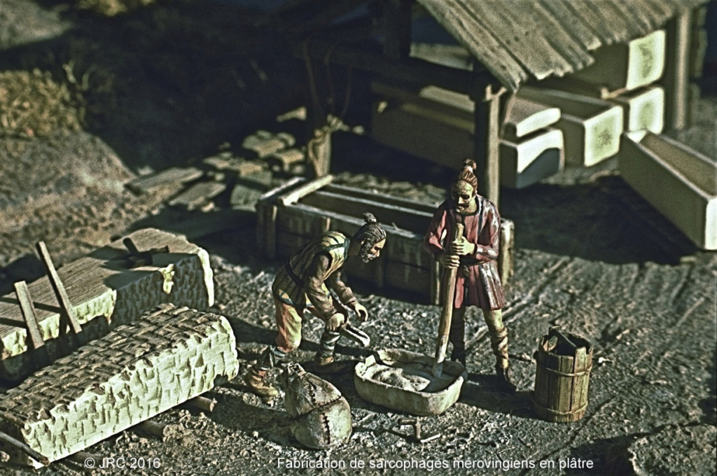 Dioramas 5 Haut Moyen-Âge et Moyen-Âge Mearo112