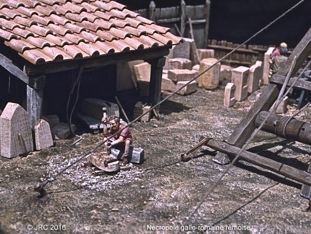 Dioramas 4 Epoque gallo-romaine Neacro10