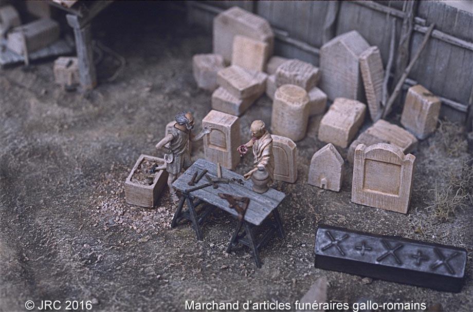 Dioramas 4 Epoque gallo-romaine Necrog10
