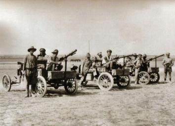Deux FORD T de l' ANZAC en Egypte 1917 New-2910