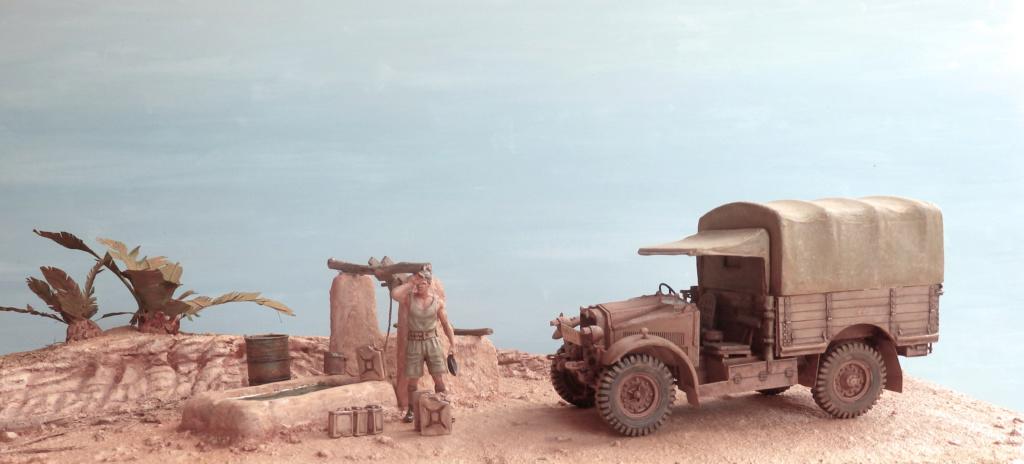 Corvée d'eau Oasis du désert libyque Egypte 1941 P2170010