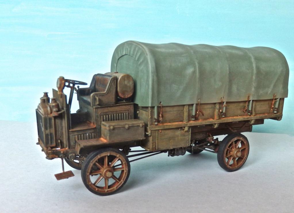 FWD US Army Truck 1917-1918 Maquette ICM 1/35e P3270010