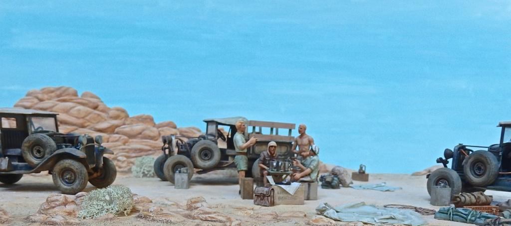 """Suite """"du patient anglais"""" aux maquettes de Ford A  Automne 1933 Expédition dans le Gilf Kébir (Désert libyque) Pa230010"""