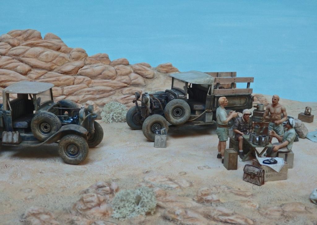 """Suite """"du patient anglais"""" aux maquettes de Ford A  Automne 1933 Expédition dans le Gilf Kébir (Désert libyque) Pa230011"""