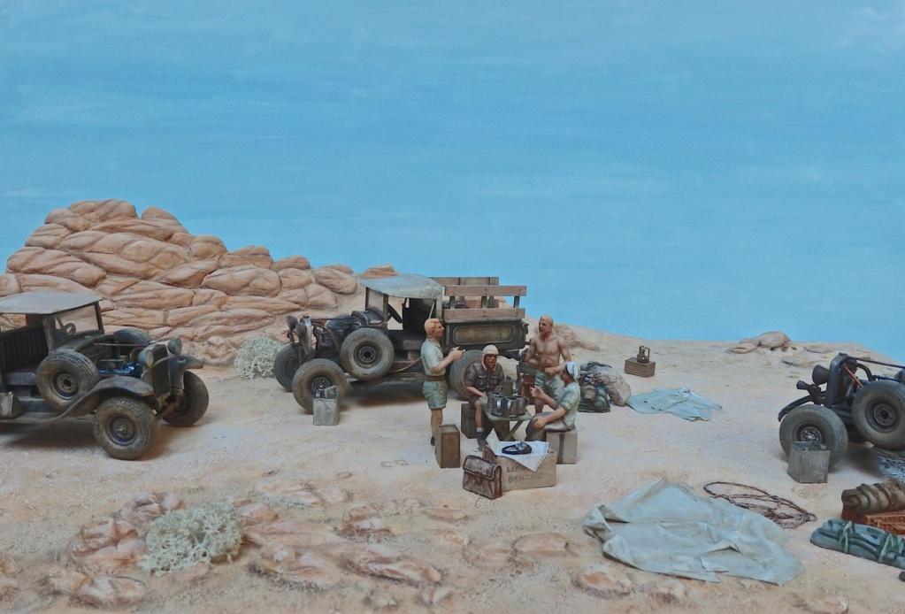 """Suite """"du patient anglais"""" aux maquettes de Ford A  Automne 1933 Expédition dans le Gilf Kébir (Désert libyque) Pa230012"""