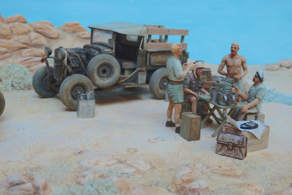 """Suite """"du patient anglais"""" aux maquettes de Ford A  Automne 1933 Expédition dans le Gilf Kébir (Désert libyque) Pa230014"""
