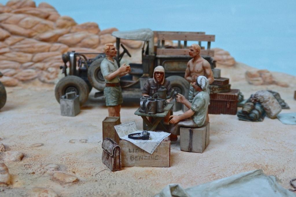 """Suite """"du patient anglais"""" aux maquettes de Ford A  Automne 1933 Expédition dans le Gilf Kébir (Désert libyque) Pa230015"""