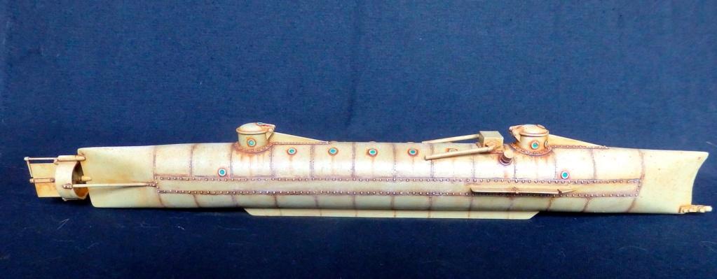 CSS Hunley au 1/32e de chez Verlinden Pa230017