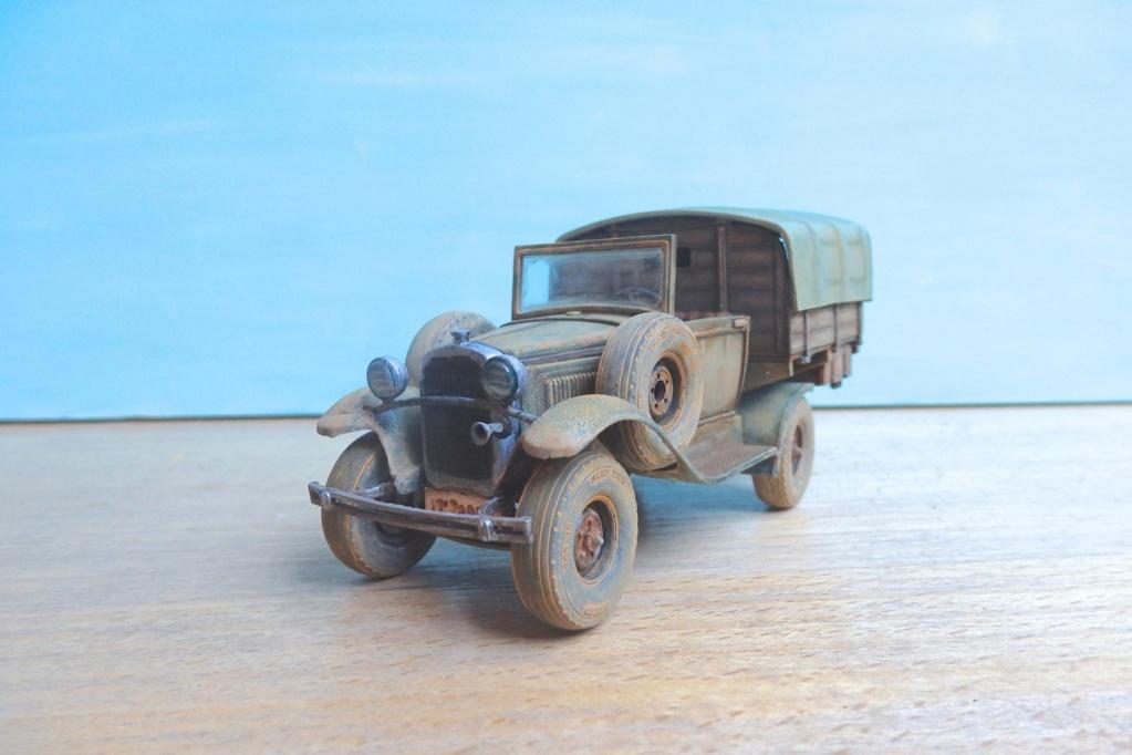 1934 Ford A de l'expédition de Léo Frobénius Moyen-Orient et Sahara Pb280017
