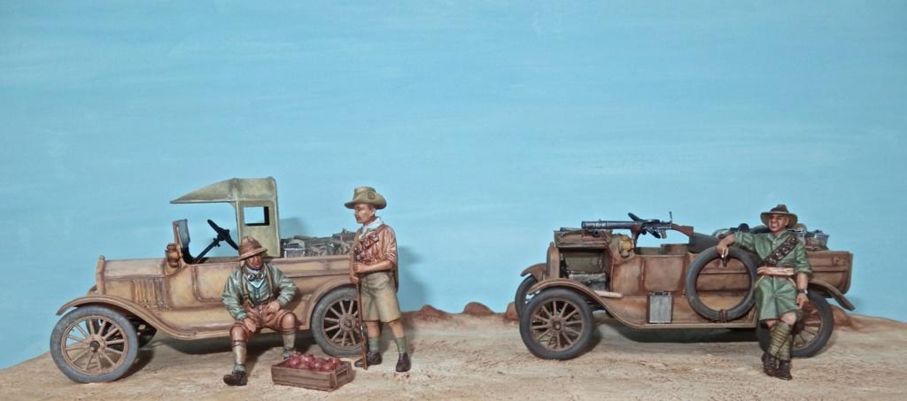 Deux FORD T de l' ANZAC en Egypte 1917 Pc100010